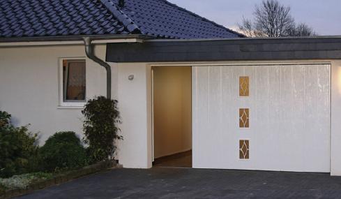 Pose et remplacement portes de garage allo porte de garage - Poser une porte de garage coulissante ...
