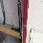 Remplacement de ressorts sur ancienne porte de garage basculante à PIERREVILLERS